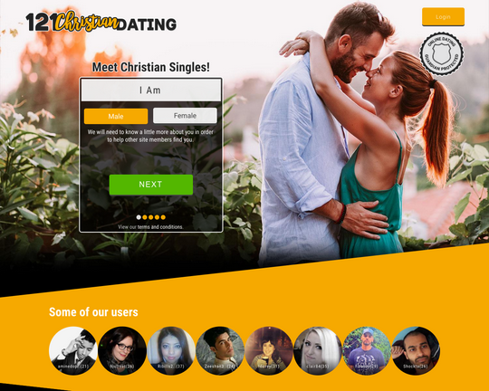 121 Christian Dating Logo