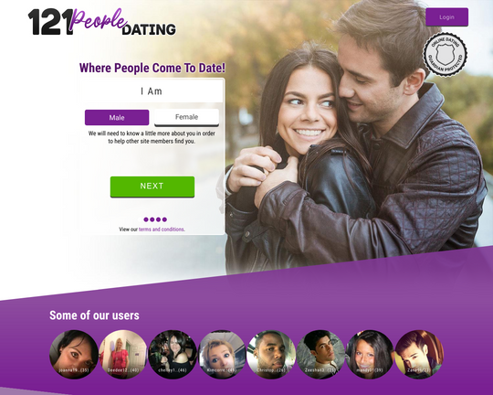 121 People Dating Logo