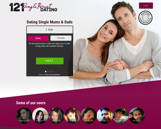 121 Single Parent Dating